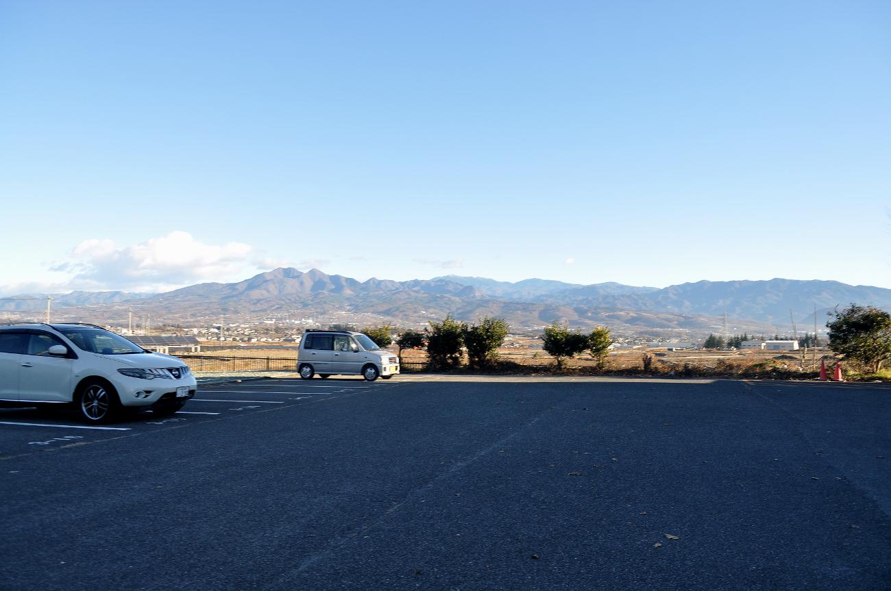 旭団地から茅ヶ岳