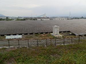 韮崎メガソーラ