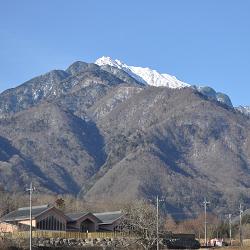 17年2月21日甲斐駒ケ岳冬景色遠望